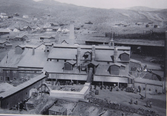 Glendale smelter photo at Canyon Creek Kilns 4