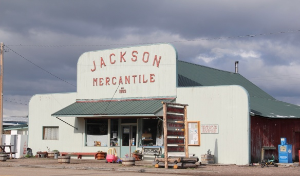 Jackson Mercantile, MT 278, L&C sign on side