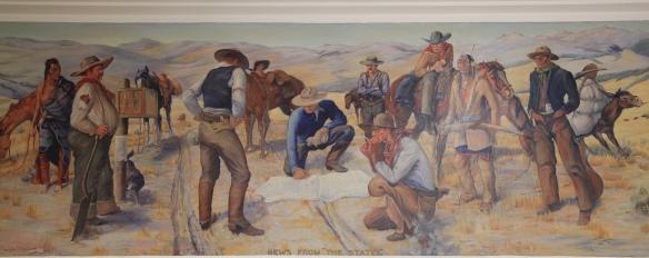 Dillon P.O. Mural NR 1