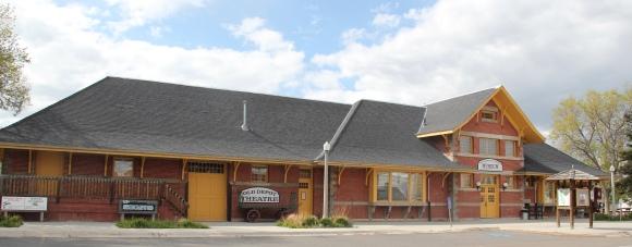 Dillon, UPRR depot, NR, Montana St