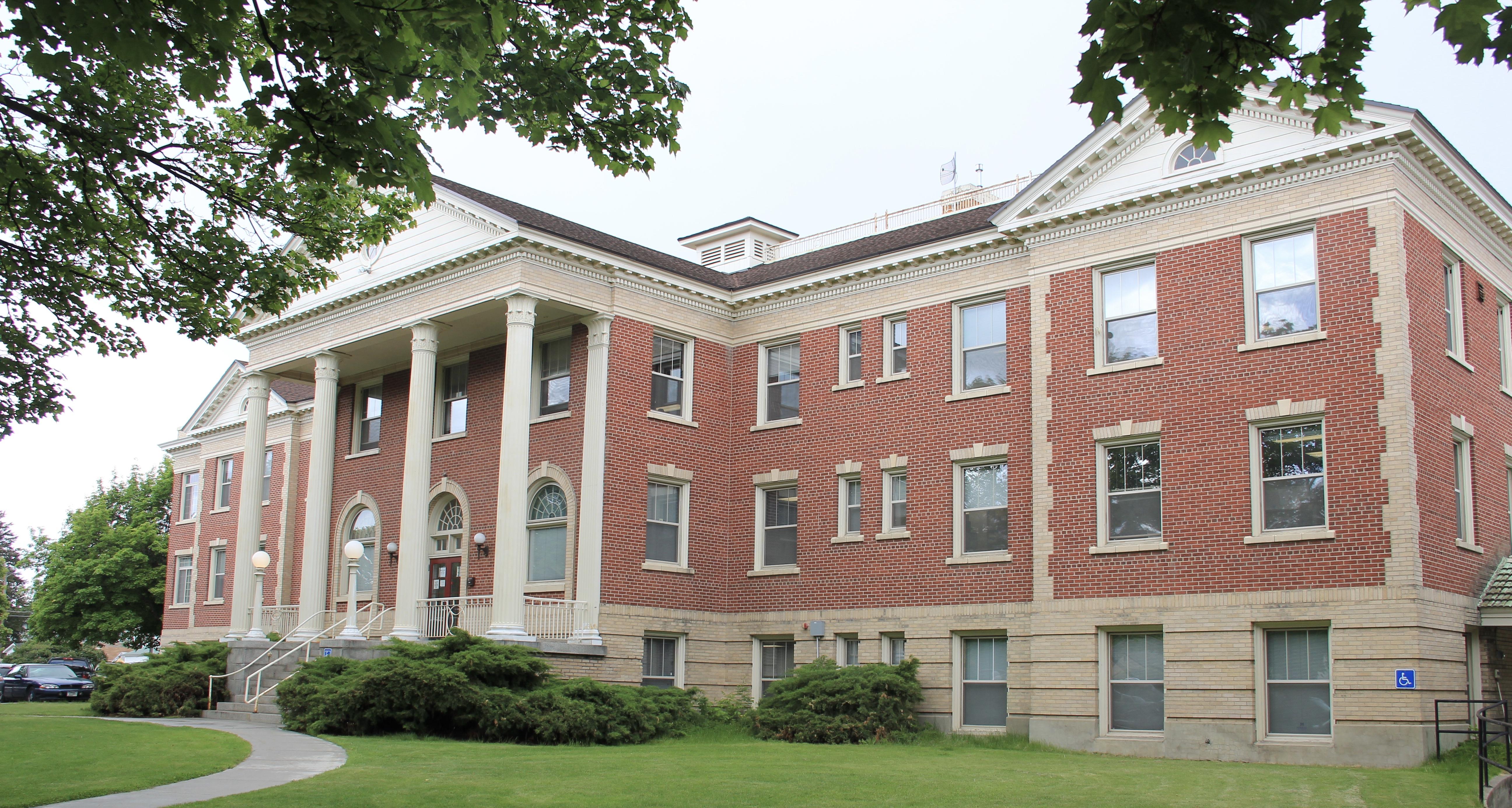 Marcus Daly Hospital (now gvt building), Hamilton NR