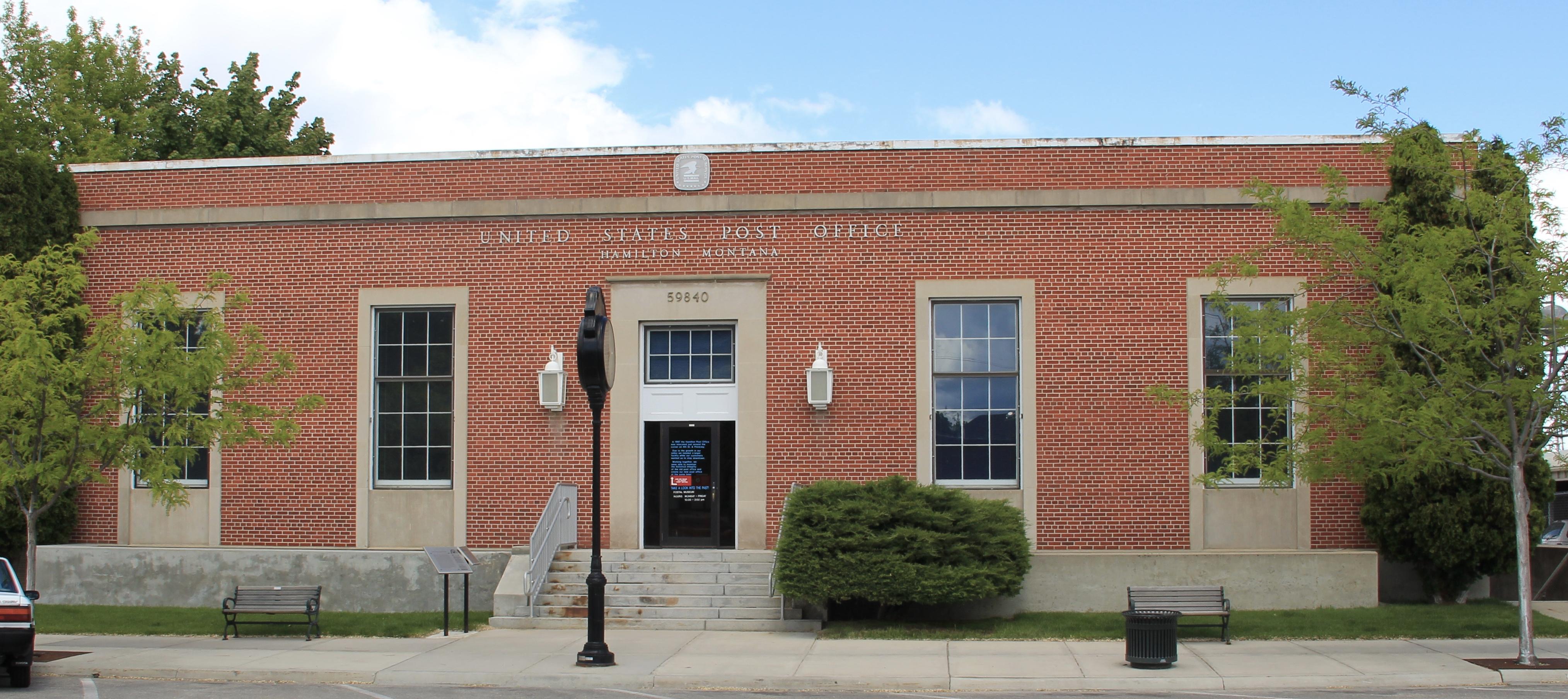 Hamilton Post office (1940) NR