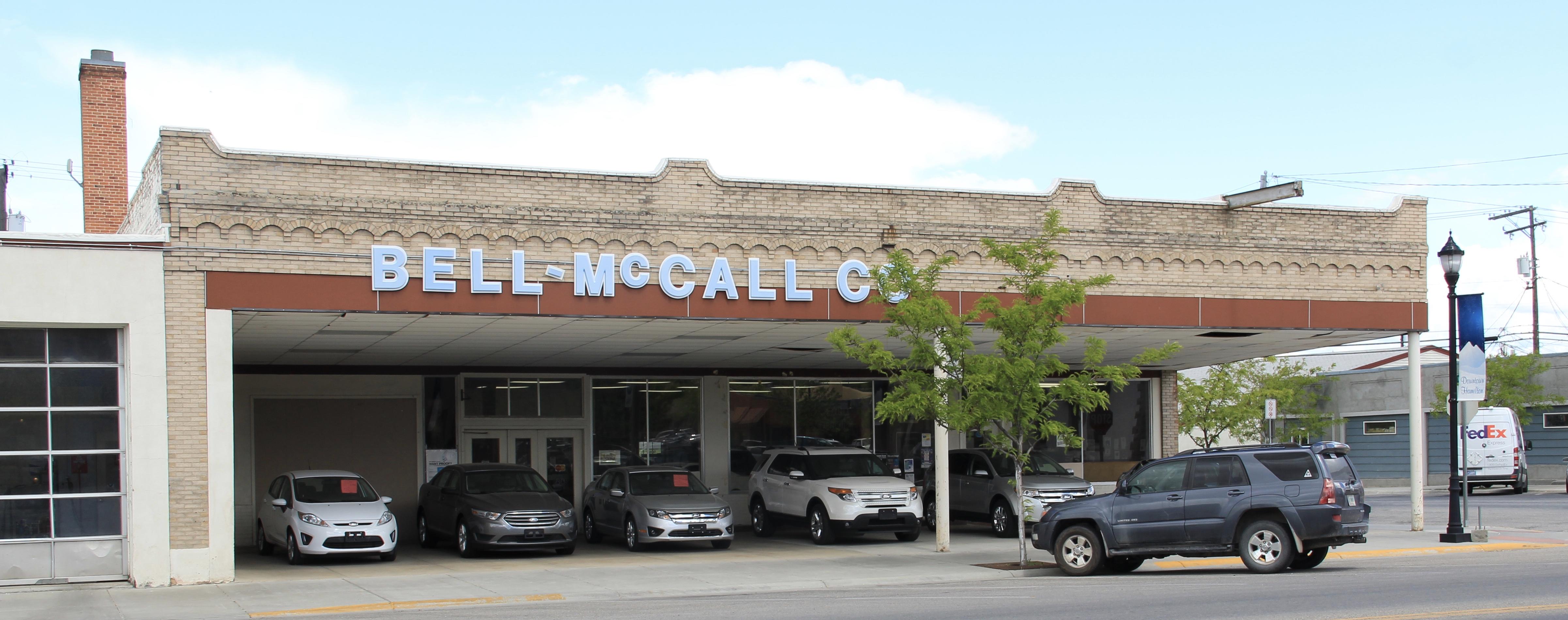 Ford dealership, main St, Hamilton