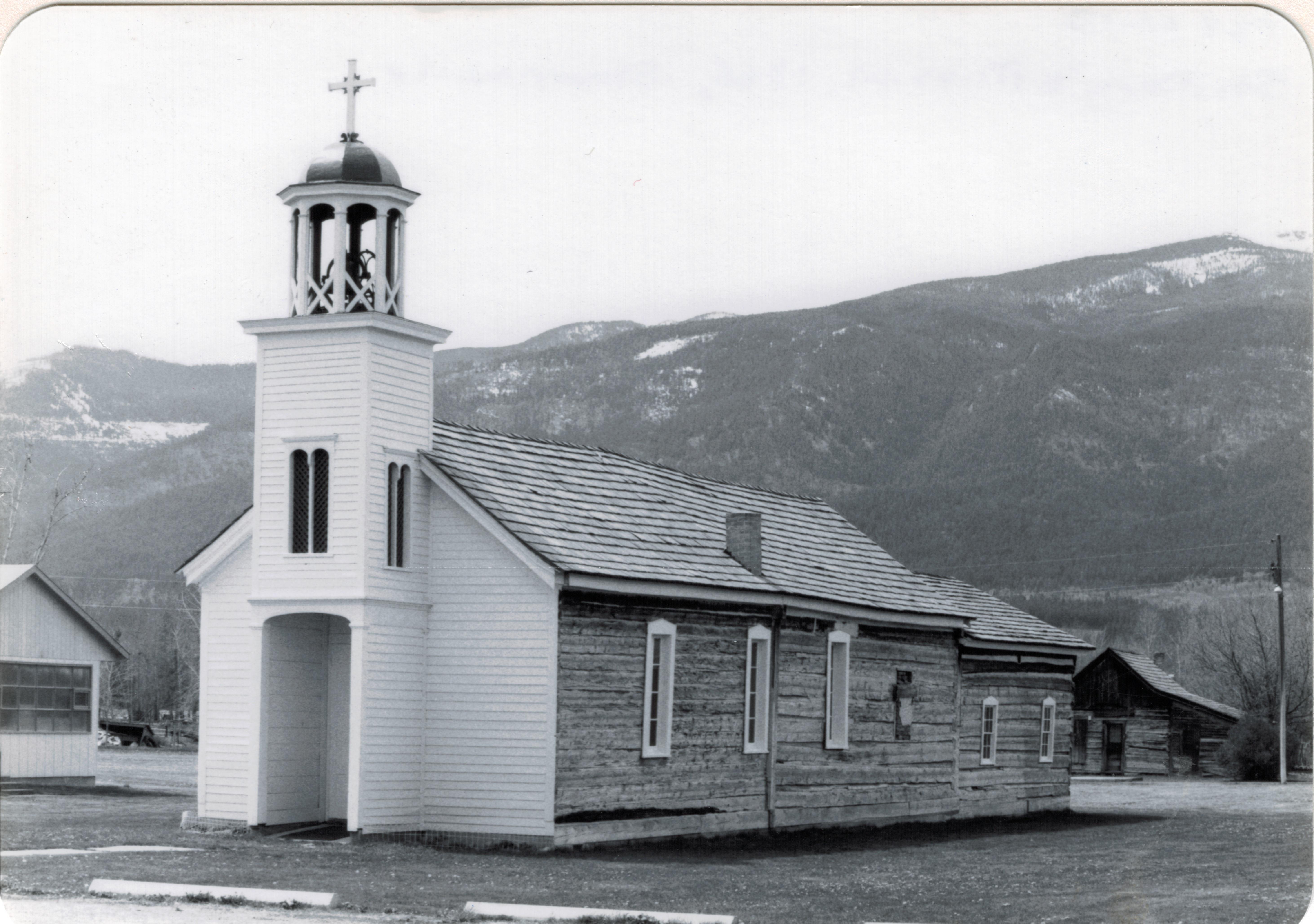 St Marys Mission, 1866, Stevensville (p84 61-13)