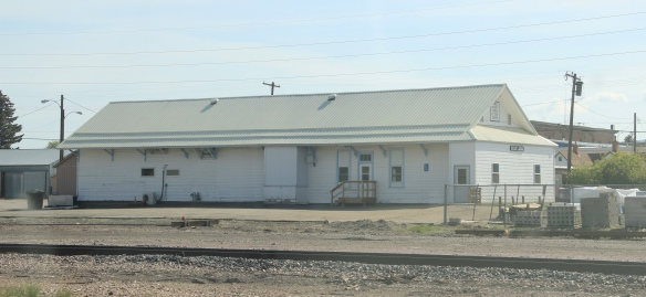 NPRR depot, Deer Lodge