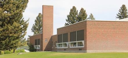 O.D. Speer Elementary side, Deer Lodge