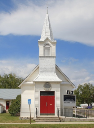 LDS church, 5th and California, Deer Lodge