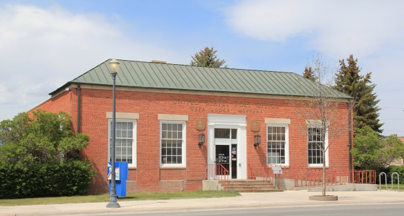 U.S. Post Office, 1938, Main St, Deer Lodge