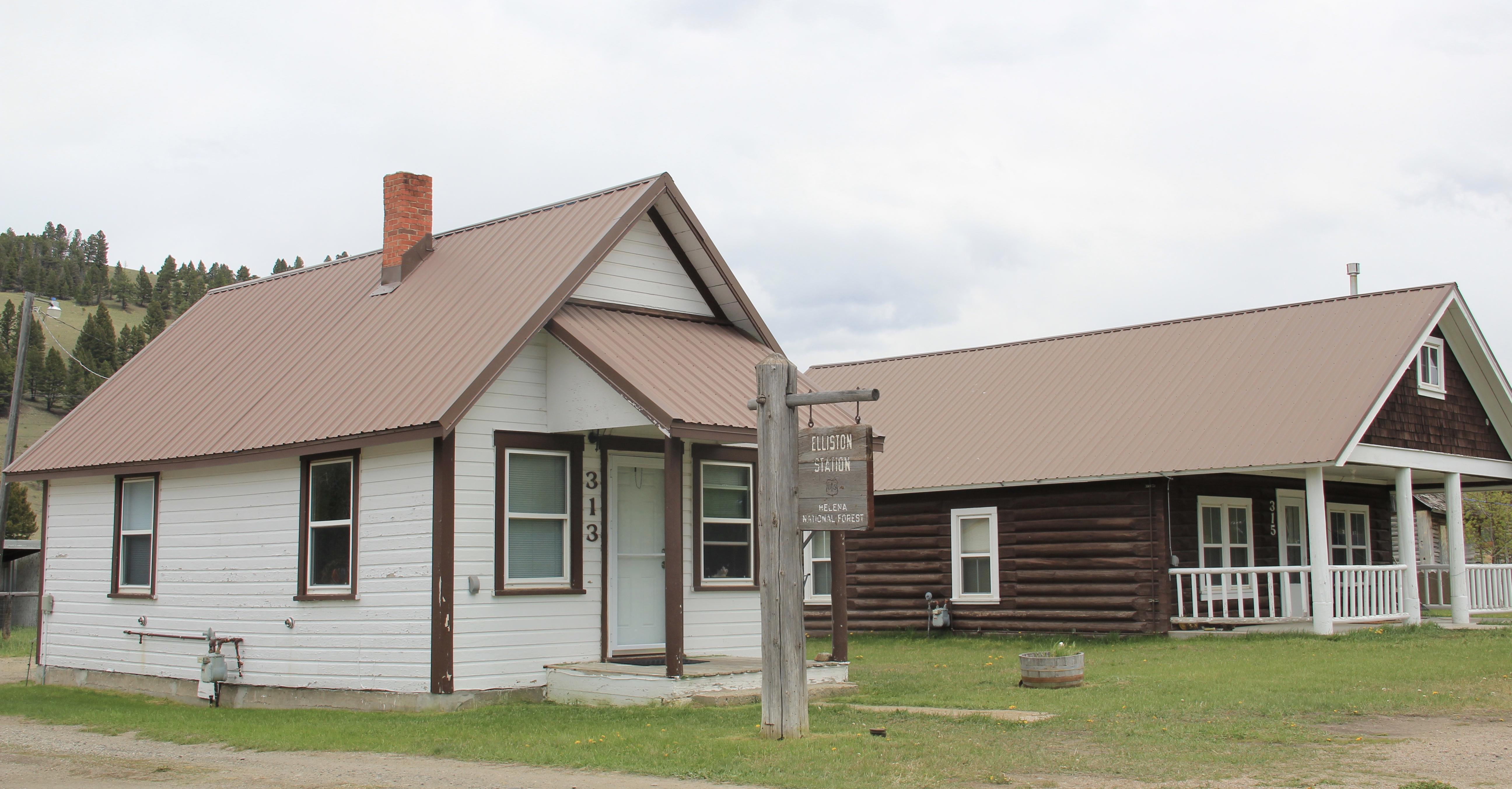 Helena National Forest ranger station, Elliston