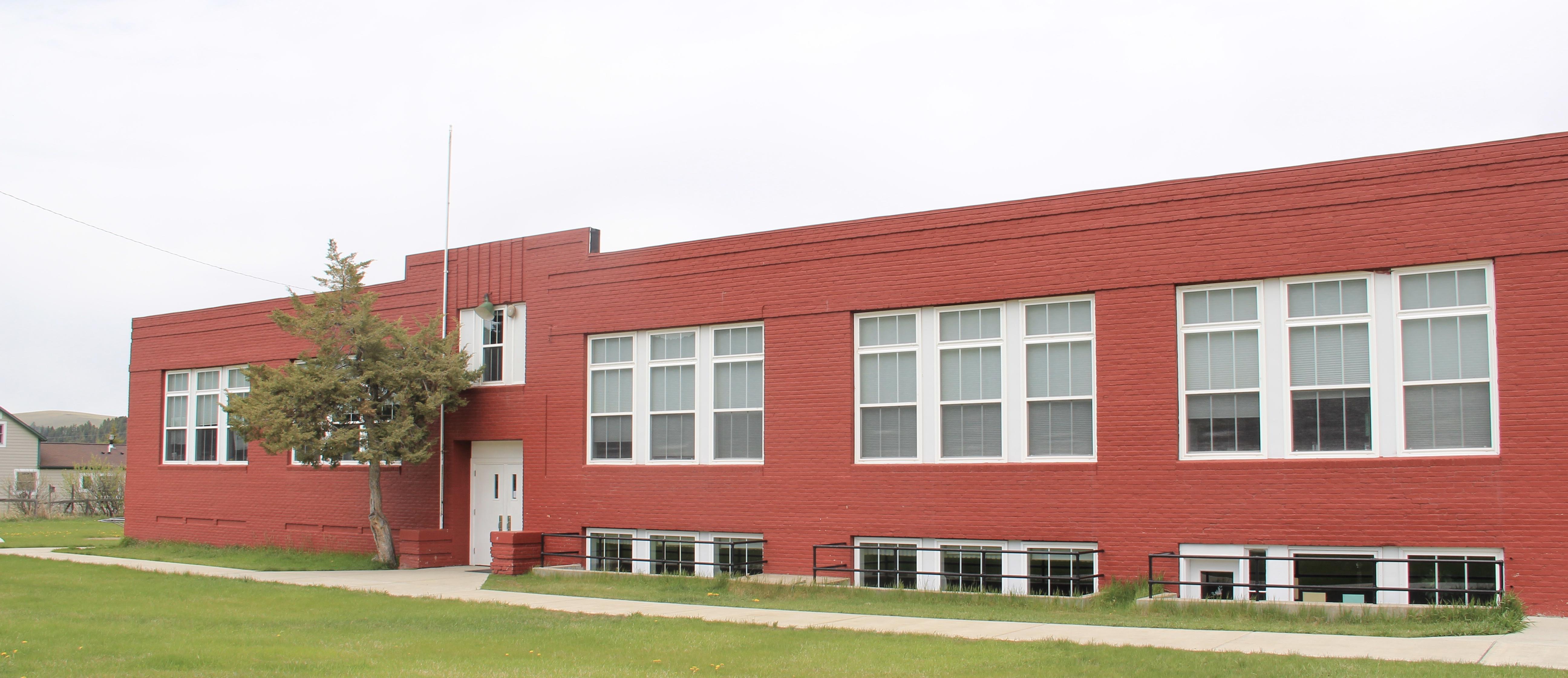 Elliston school, Powell Co