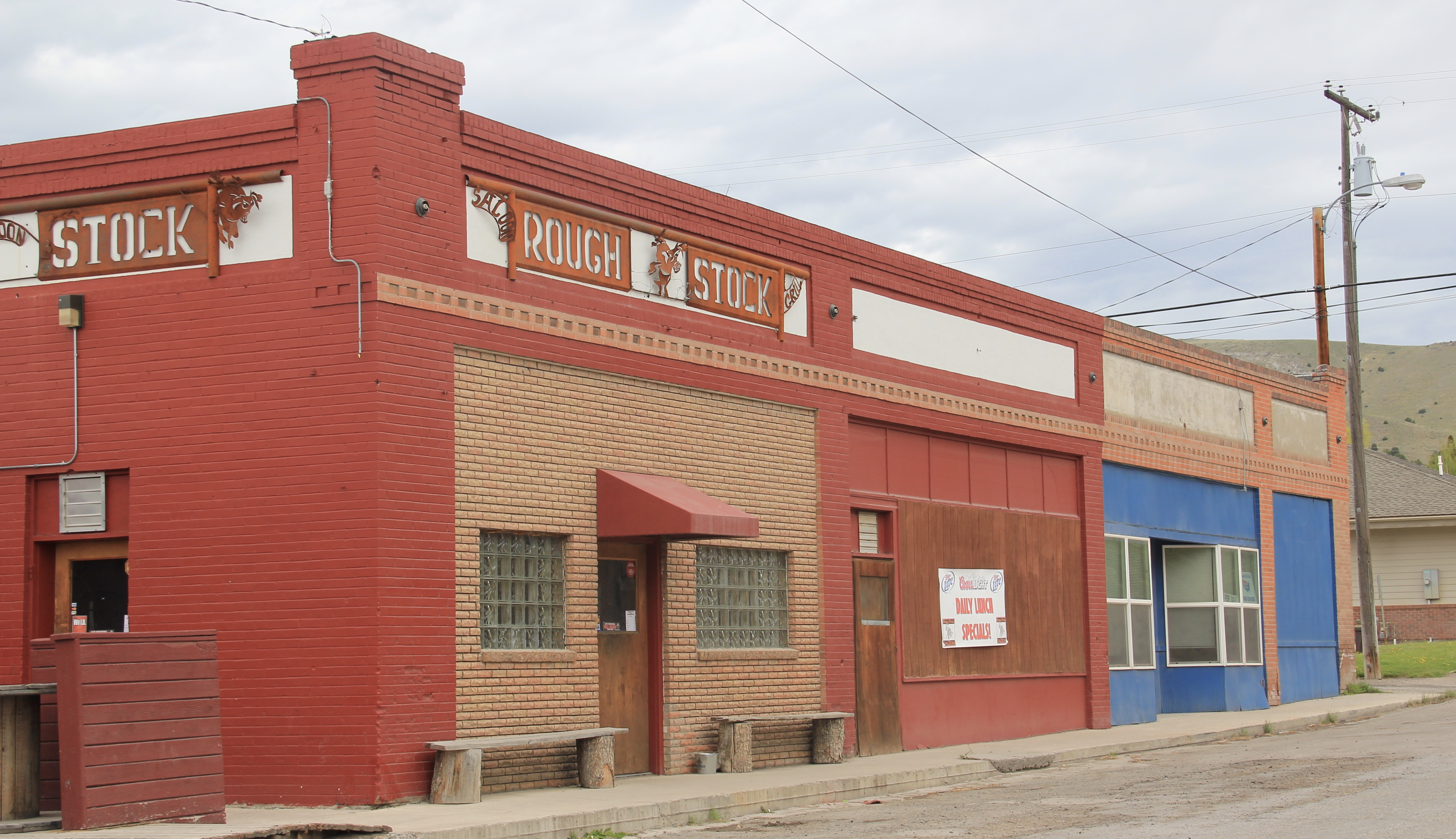 Granite Co, Drummond Rough Stock Bar, Front and Main St