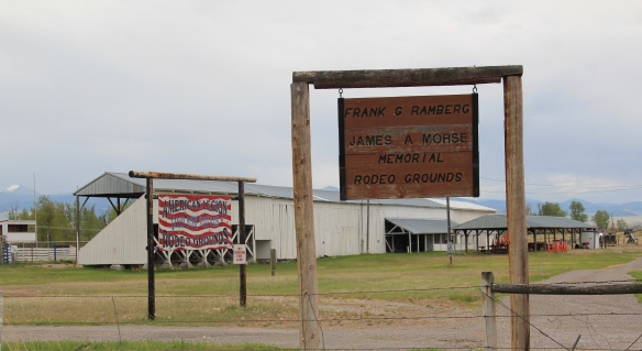Granite Co, Drummond fairgrounds and memorial signs