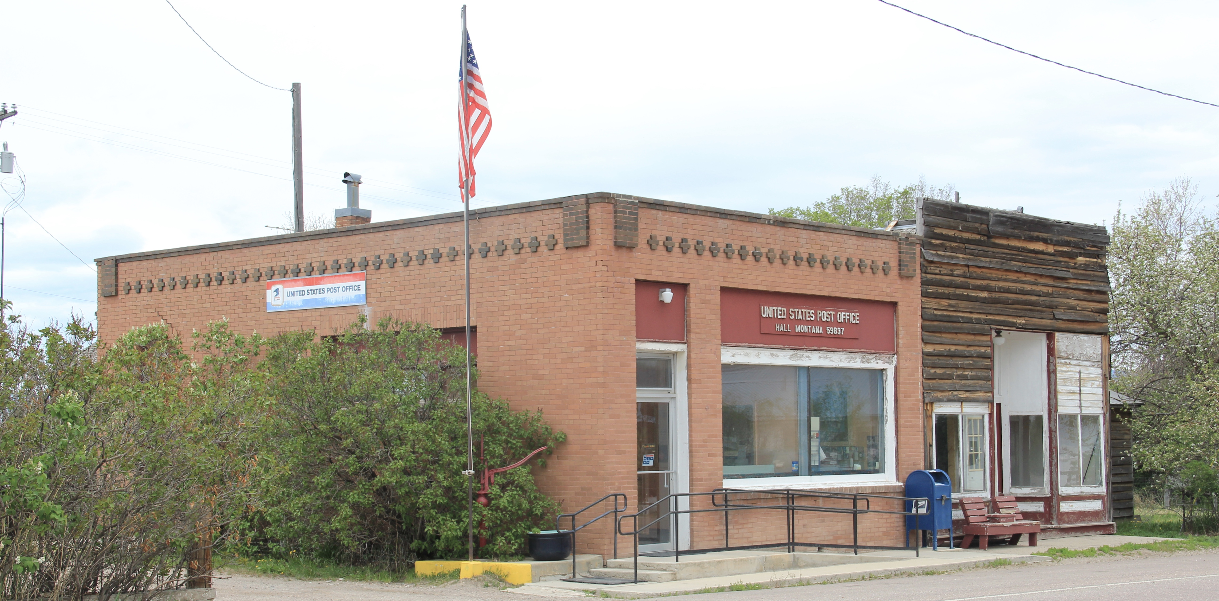 Granite Co, Hall post office, St 512