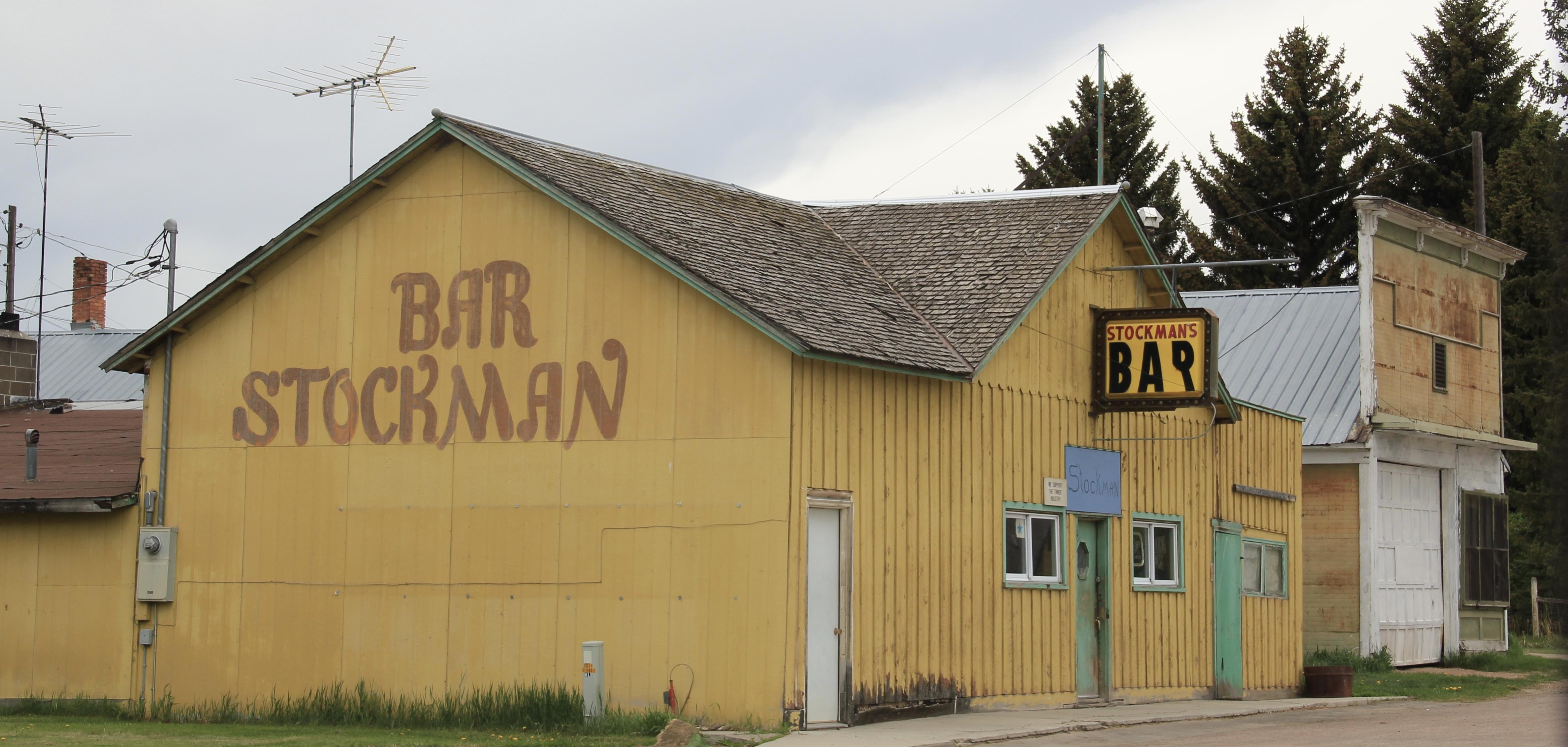 Granite Co, Stockman bar and store, MT 513, HALL