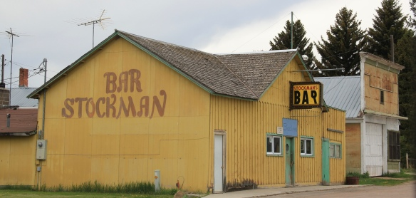 Granite Co, Stockman bar and store, MT 513, HALL