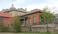 Granite Co, Phillipsburg brick house and courthouse
