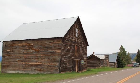 MT 271 log buildings, Helmville, Powell Co