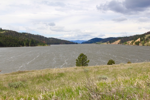 Nevada Creek Reservoir, N, irrigation, MT 141, Powell Co