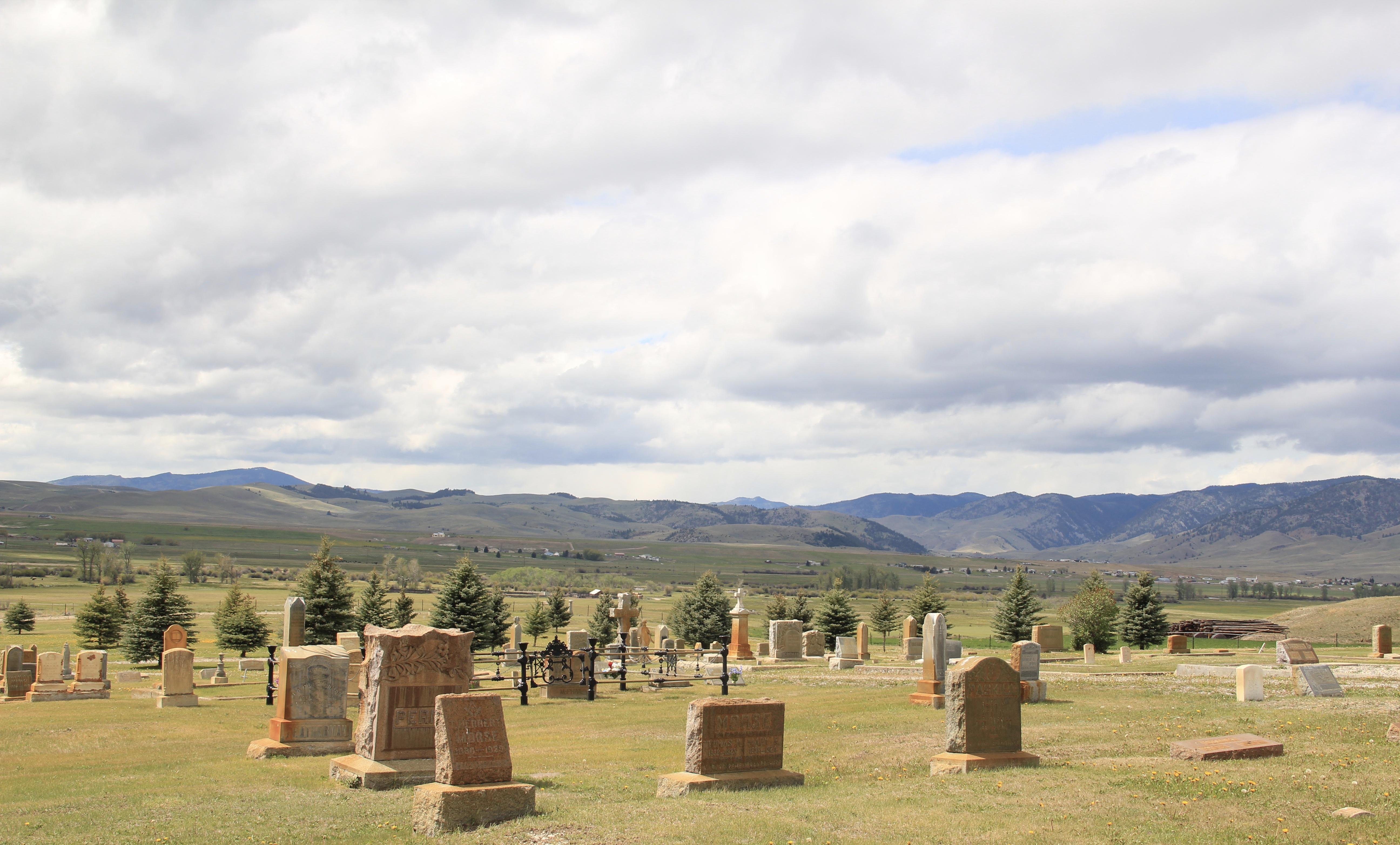 Valley Cemetery, Mullan Road, Granite Co 2