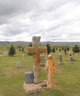 Annie Milroy, 1912, Valley Cemetery, Mullan Road, Granite Co