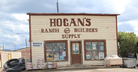 Hogan's store, MT 512, Hall