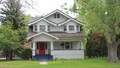 Louis May House, 100 Church, Stevensville NR
