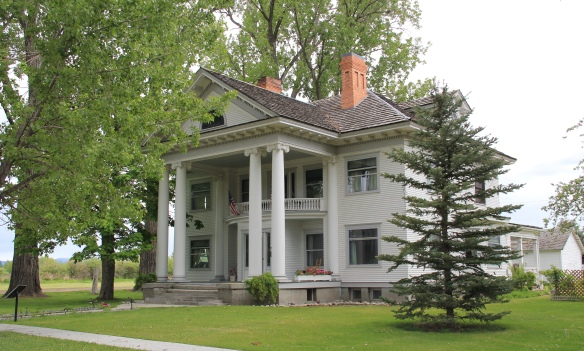 Bass House, 100 College, Stevensville 1909