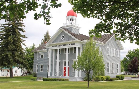 Public School (1884) now Methodist Church, 216 College, Stevensville NR