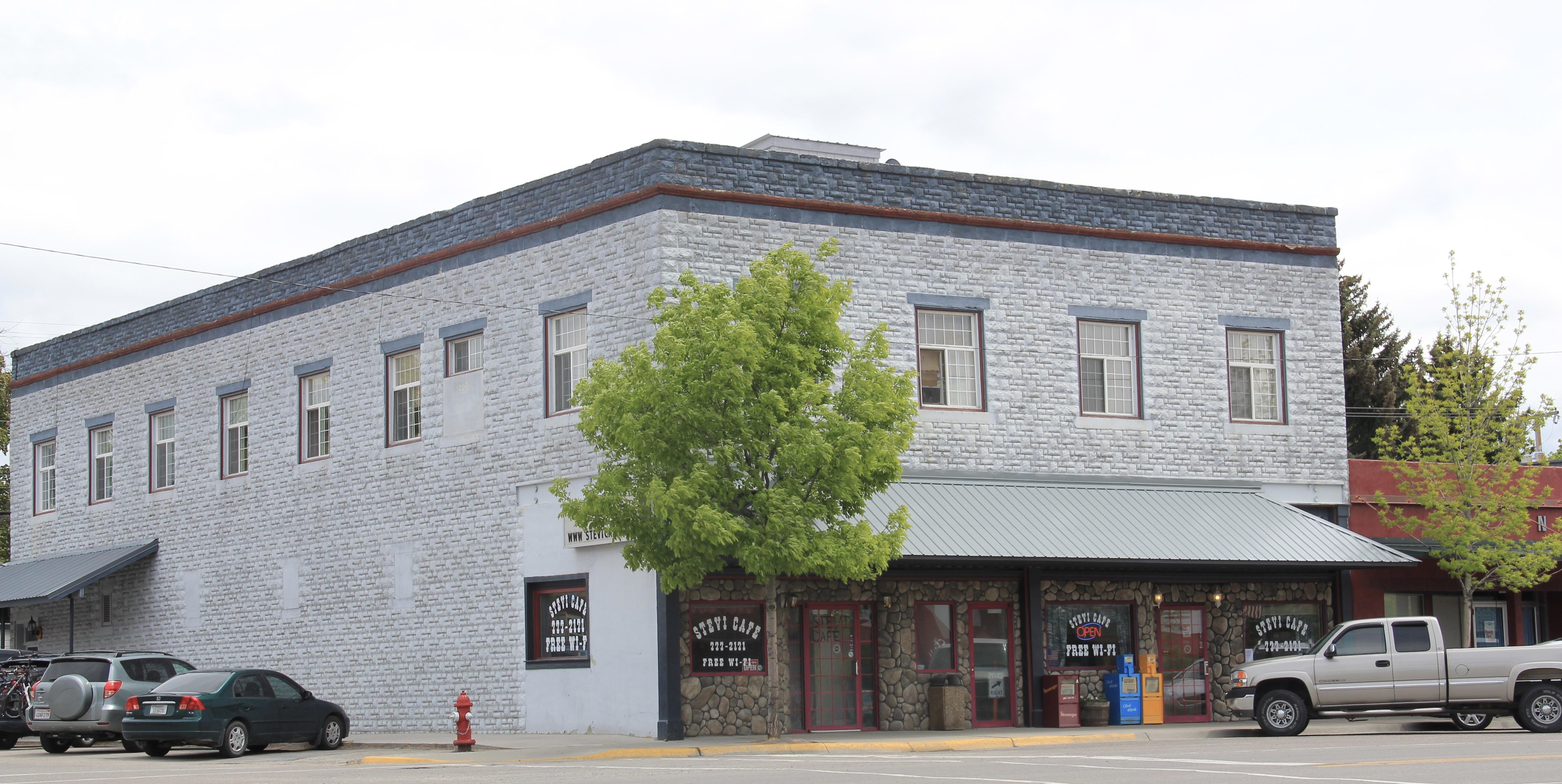 200-202 Main St, Gleason Bldg, Stevensville NR