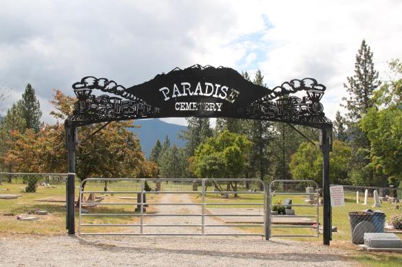 Sanders Co Paradise cemetery