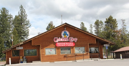 Missoula Co Hwy 35 Seeley Lake chicken cafe