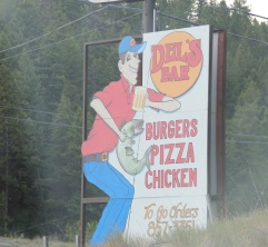 Flathead Co Somers Dell's bar sign