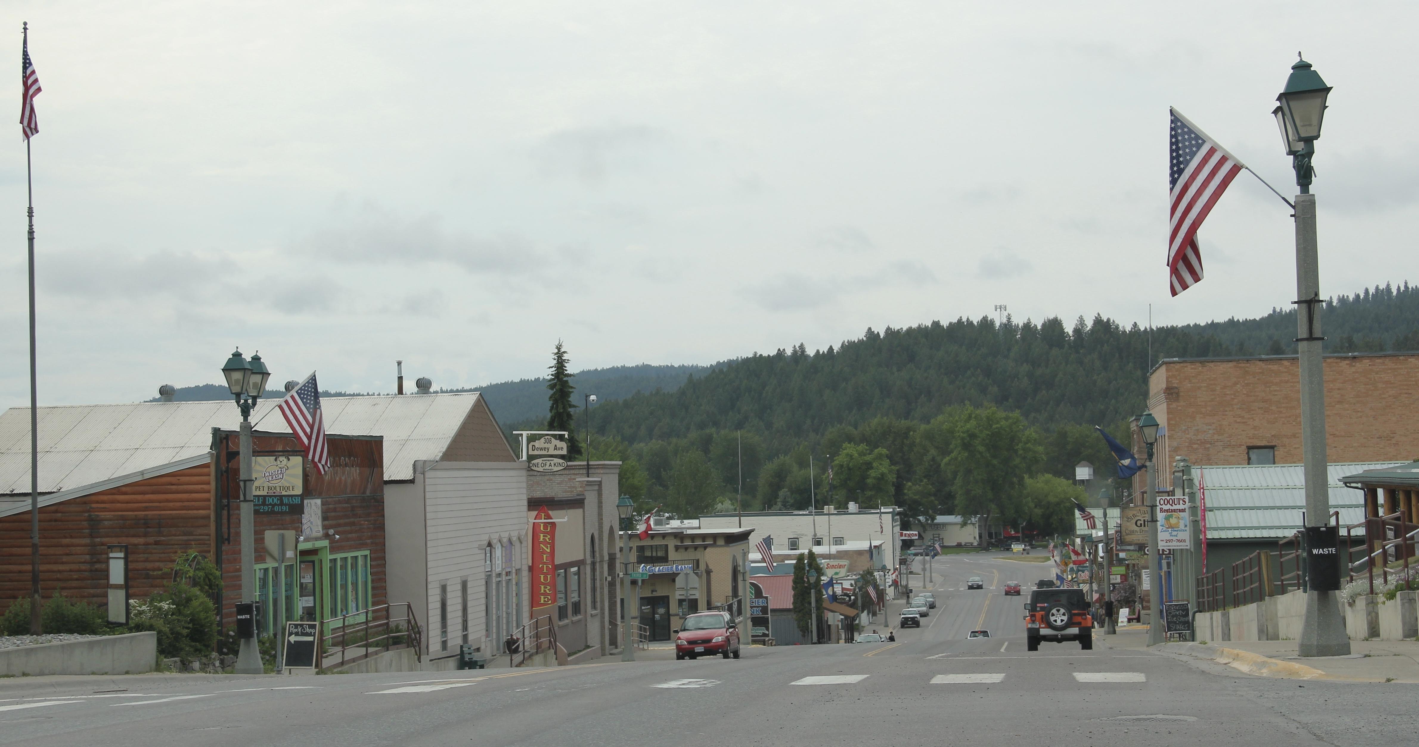 Flathead Co Eureka streetscape