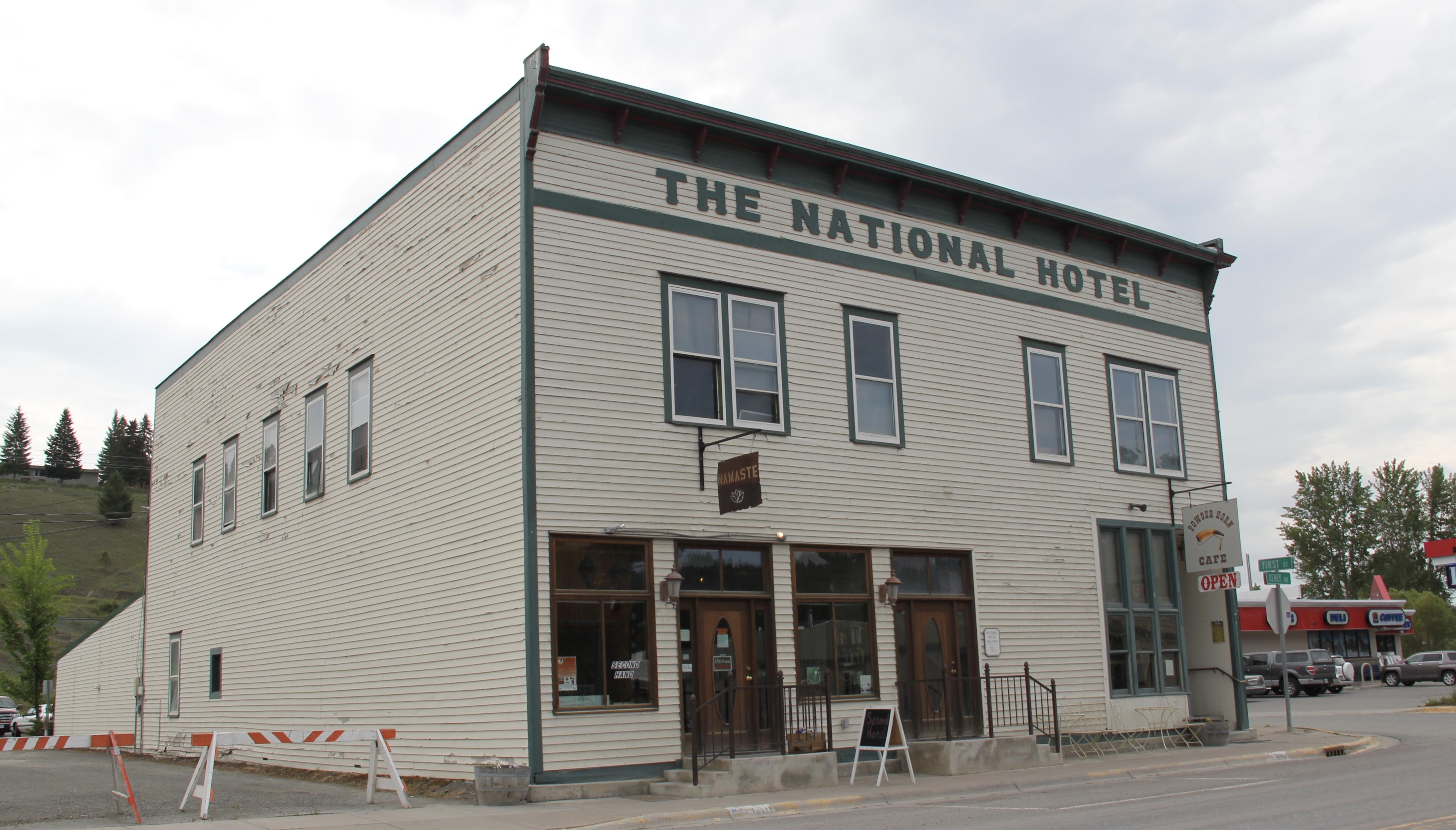Flathead Co Eureka National Hotel 1907
