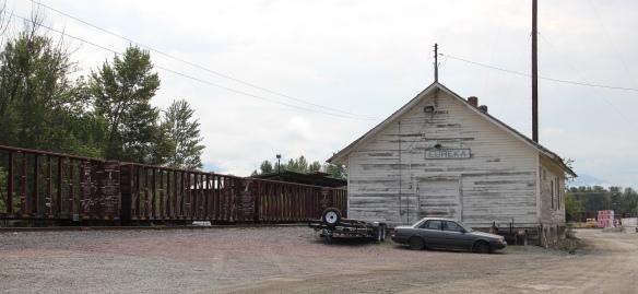 Flathead Co Eureka GN depot