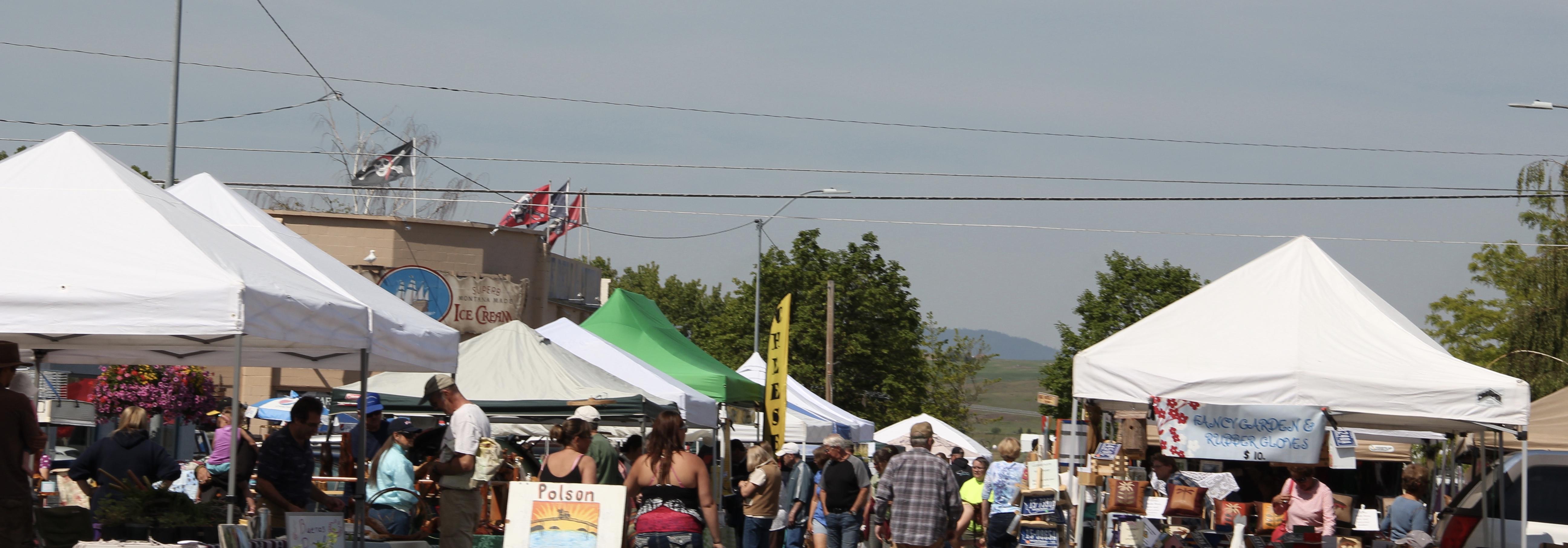 Lake Co Polson farmers market