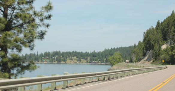 Lake Co Hwy 35 Flathead Lake drive 13