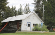 Flathead Co Olney old log post office