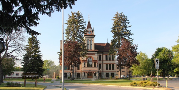 Flathead Co Kalispell Main St courthouse