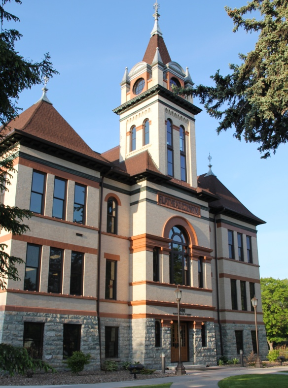 Flathead Co Kalispell Main St courthouse 1