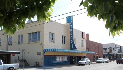 Flathead Co Kalispell Strand Theater Art Deco
