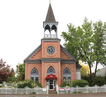 Flathead Co Columbia Falls historic church 1884 1