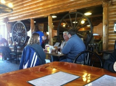 Wagon Wheel cafe Choteau