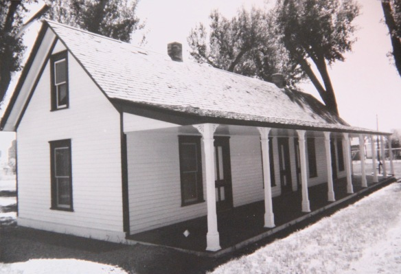 Wibaux Co Wibaux ranch house 1988