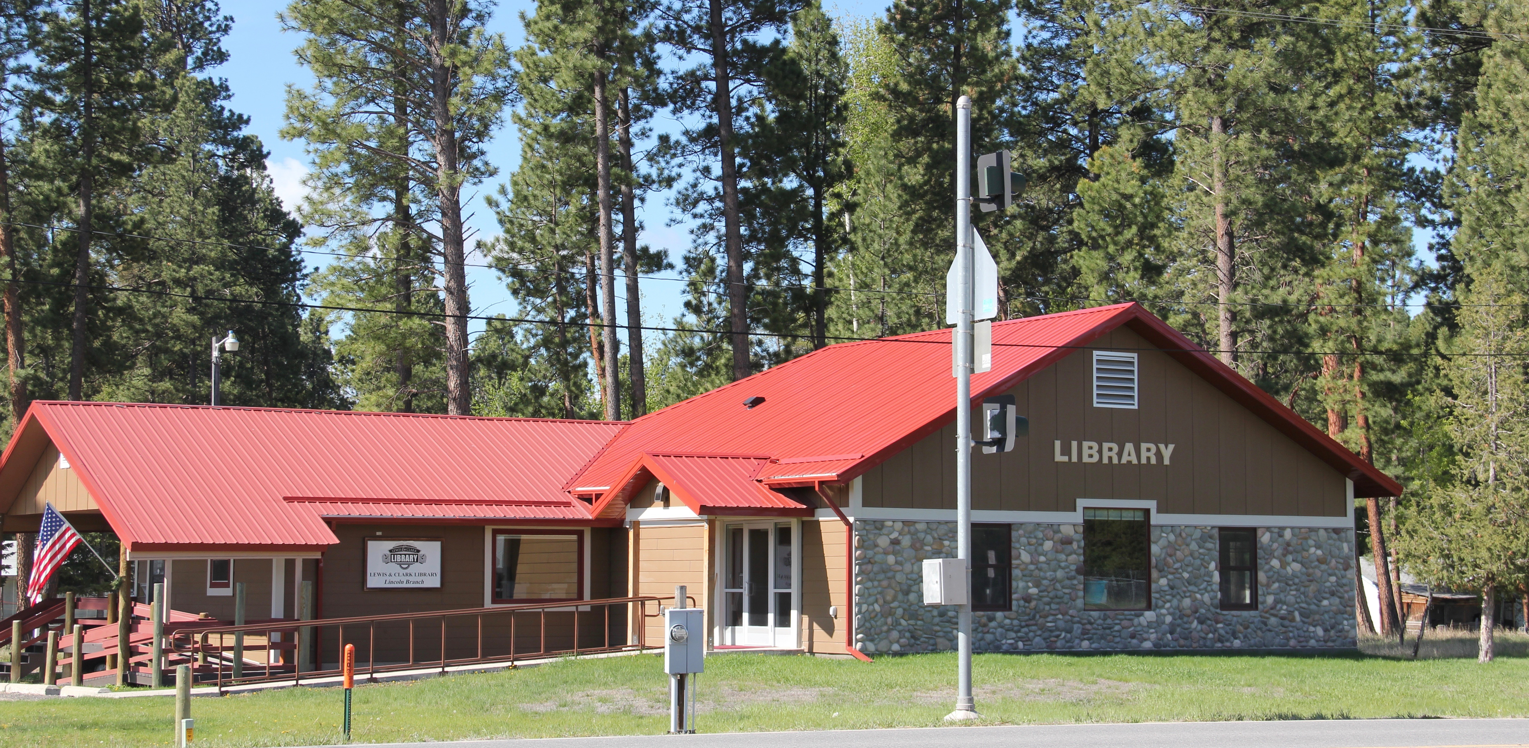 Lewis & Clark Co Lincoln library
