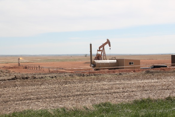 Sheridan Co Homestead oil well