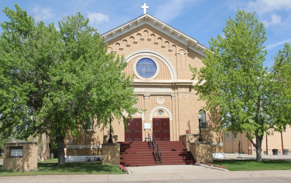 Dawson Co Glendive Sacred Heart Catholic NR