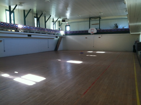 VA City WPA gym, community center