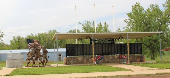 Garfield Co Jordan war memorial