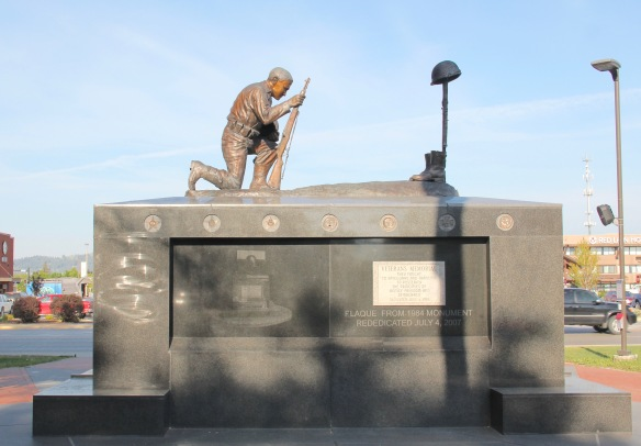 Flathead Co Kalispell veterans memorial